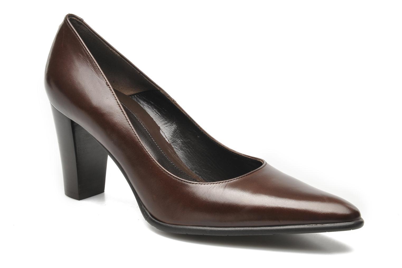 Zapatos de tacón Perlato Piaza Marrón vista de detalle / par