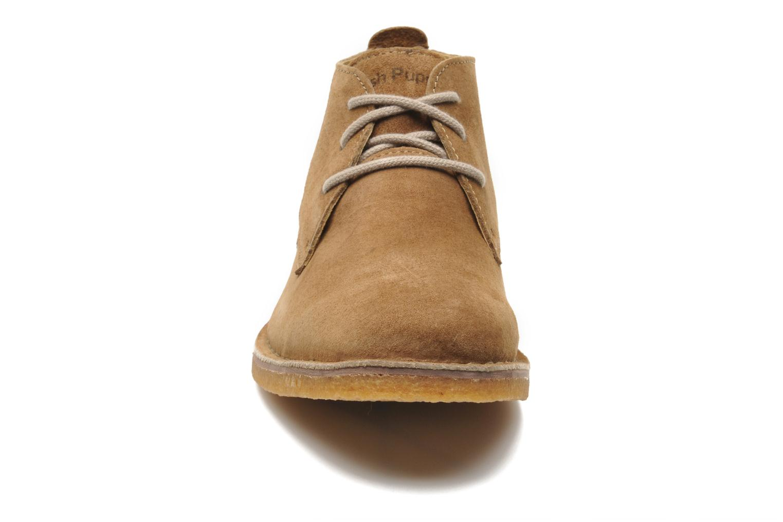 Chaussures à lacets Hush Puppies Desert II Marron vue portées chaussures