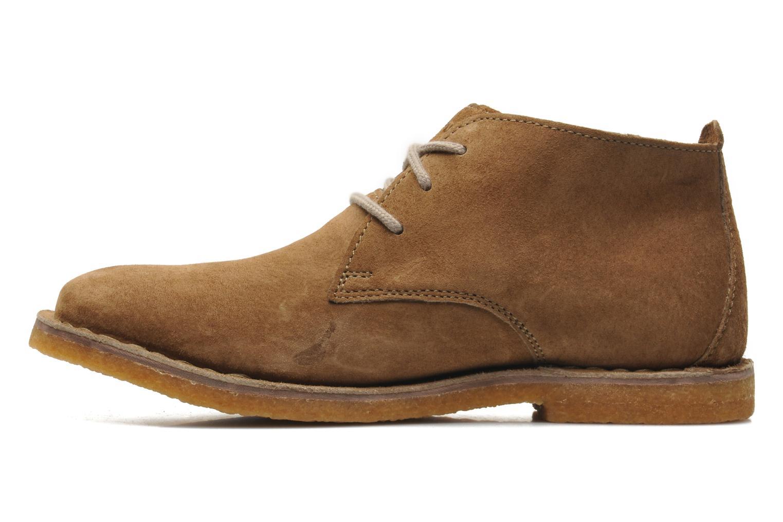 Chaussures à lacets Hush Puppies Desert II Marron vue face