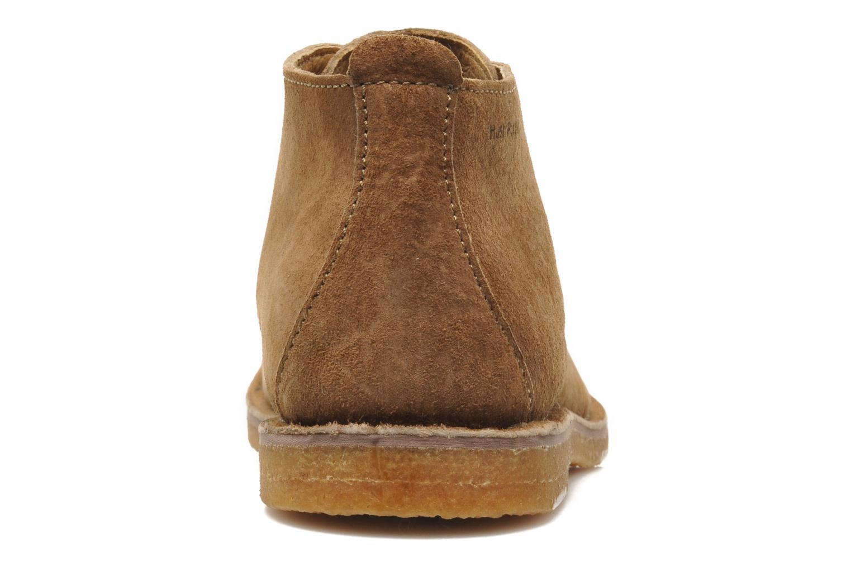 Chaussures à lacets Hush Puppies Desert II Marron vue droite