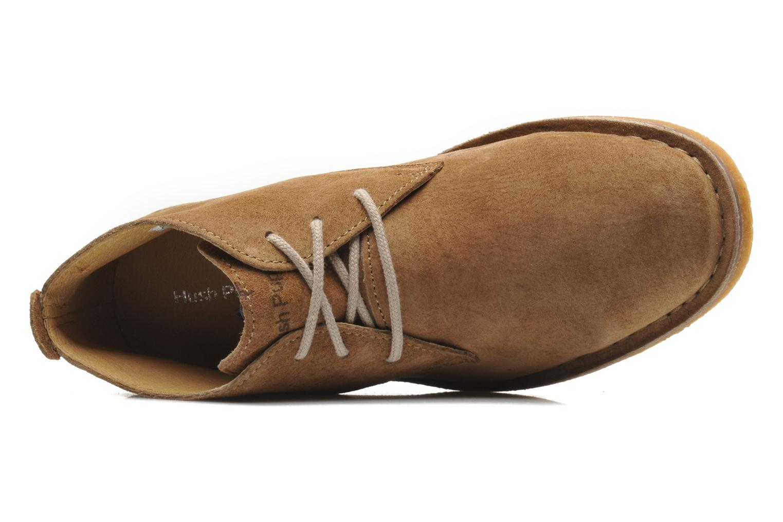 Chaussures à lacets Hush Puppies Desert II Marron vue gauche