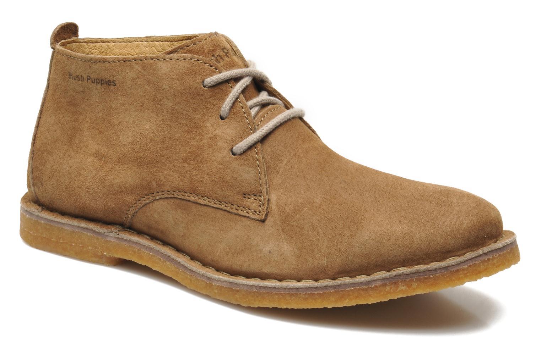 Chaussures à lacets Hush Puppies Desert II Marron vue détail/paire