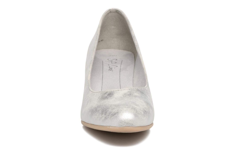 Escarpins Jana shoes Anis Argent vue portées chaussures