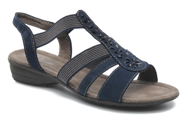 Sandalias Jana shoes Helen Azul vista de detalle / par