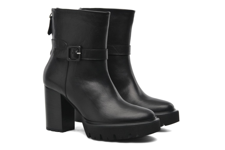 Boots en enkellaarsjes Kallisté 5123MOD Zwart 3/4'