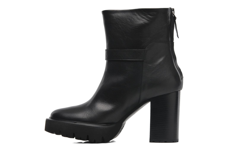 Boots en enkellaarsjes Kallisté 5123MOD Zwart voorkant