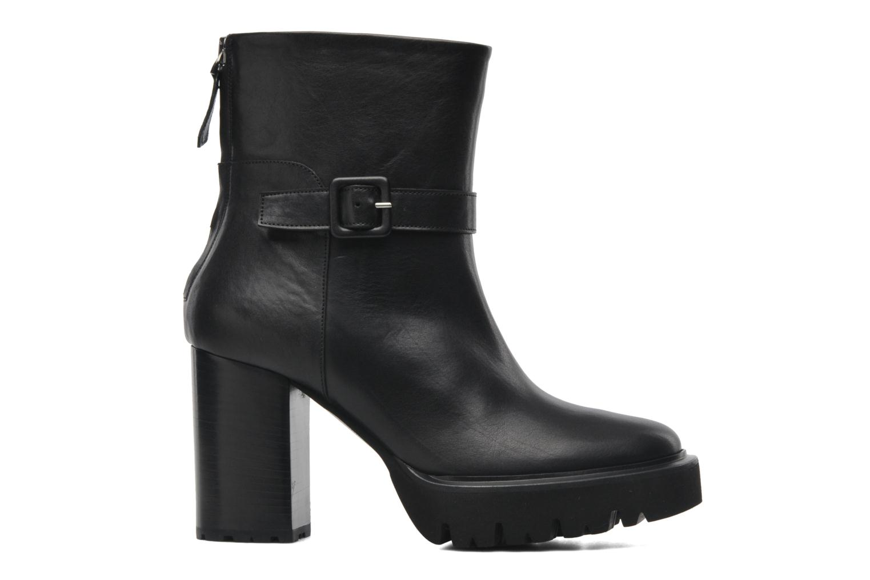 Boots en enkellaarsjes Kallisté 5123MOD Zwart achterkant