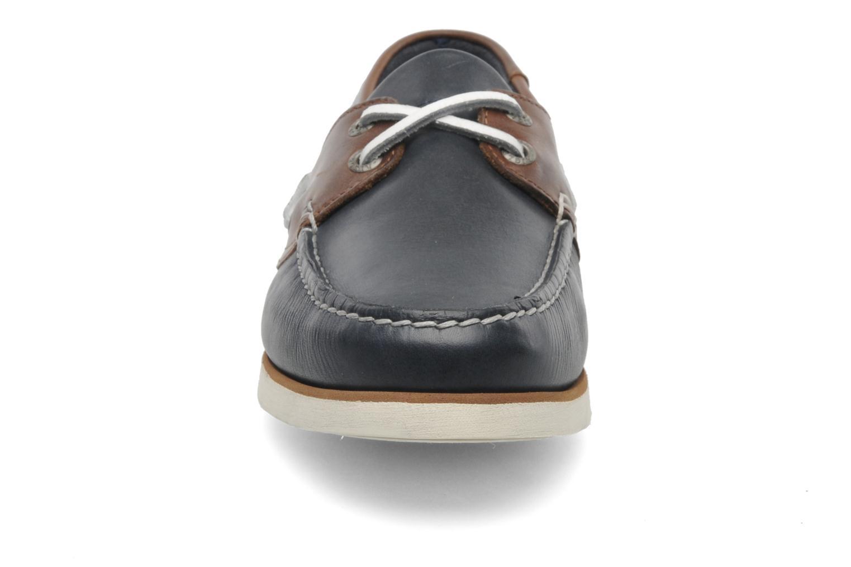 Zapatos con cordones Aigle Americasual Azul vista del modelo