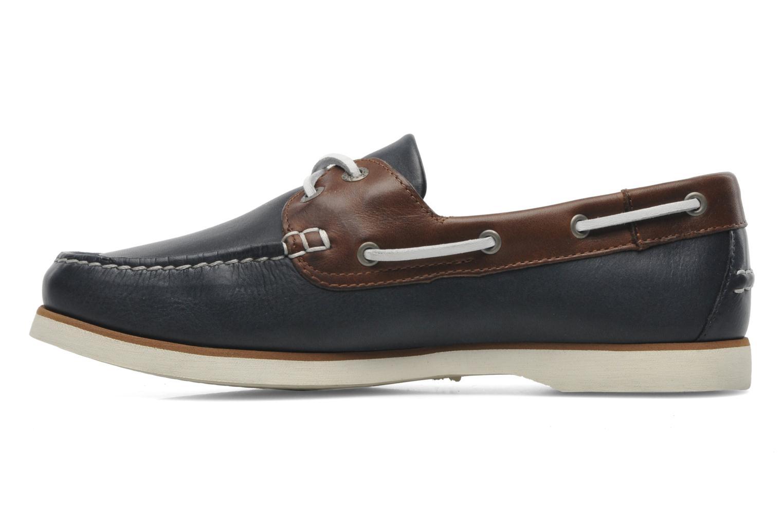 Zapatos con cordones Aigle Americasual Azul vista de frente
