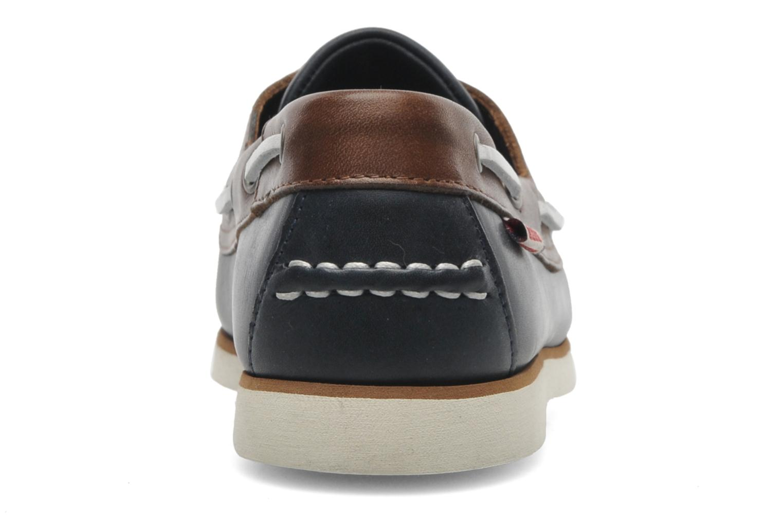 Zapatos con cordones Aigle Americasual Azul vista lateral derecha