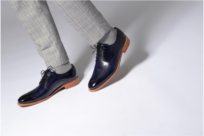 Scarpe con lacci Melvin & Hamilton Tom 8 Azzurro immagine dal basso
