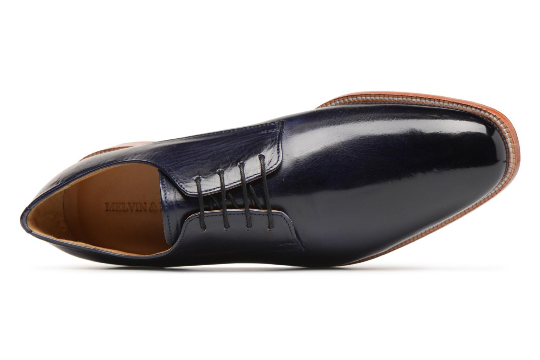 Scarpe con lacci Melvin & Hamilton Tom 8 Azzurro immagine sinistra