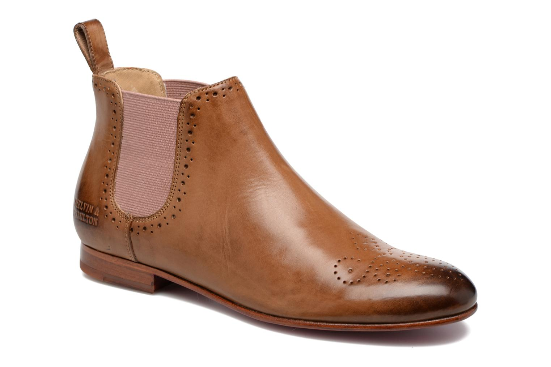 Ankelstøvler Melvin & Hamilton Sally 16 Brun detaljeret billede af skoene