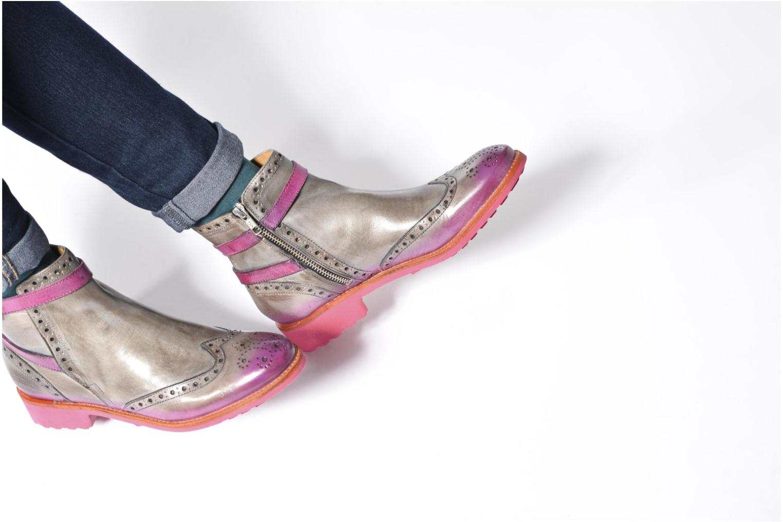Bottines et boots Melvin & Hamilton Amelie 11 Gris vue bas / vue portée sac