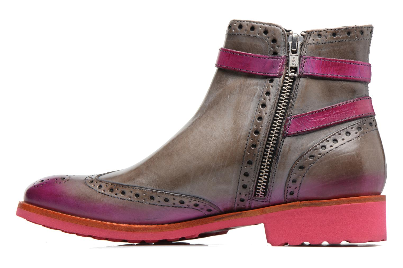 Bottines et boots Melvin & Hamilton Amelie 11 Gris vue face