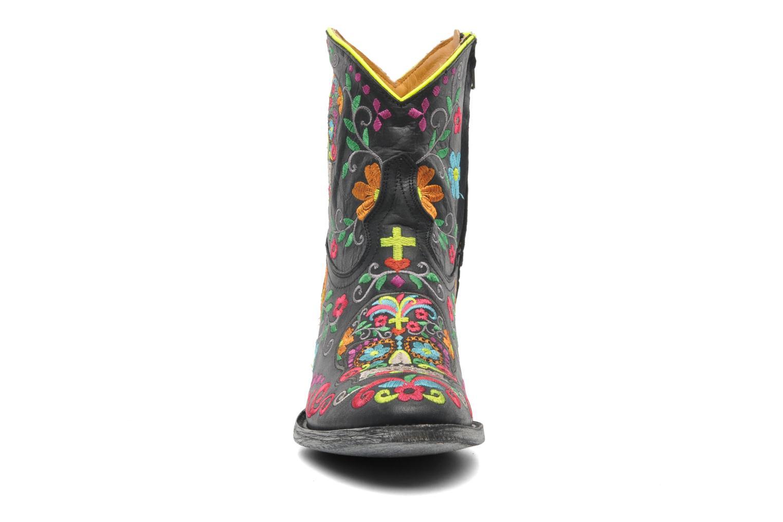Stiefeletten & Boots Mexicana Klakzipper schwarz schuhe getragen