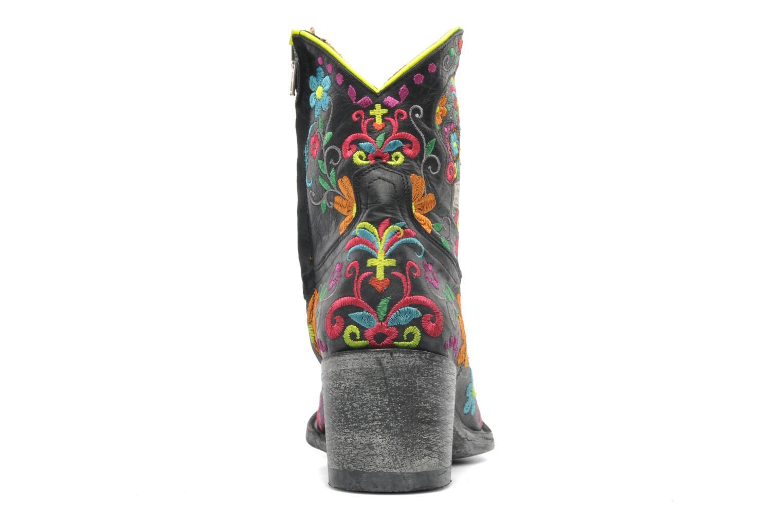 Stiefeletten & Boots Mexicana Klakzipper schwarz ansicht von rechts