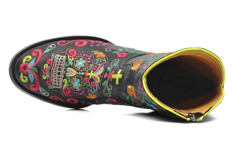 Stiefeletten & Boots Mexicana Klakzipper schwarz ansicht von links