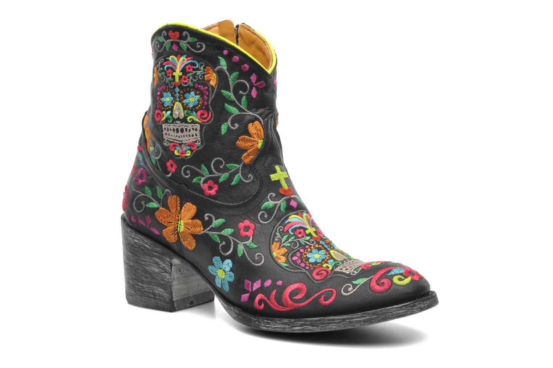 Grandes descuentos últimos zapatos Mexicana Klakzipper (Negro) - Botines  Descuento