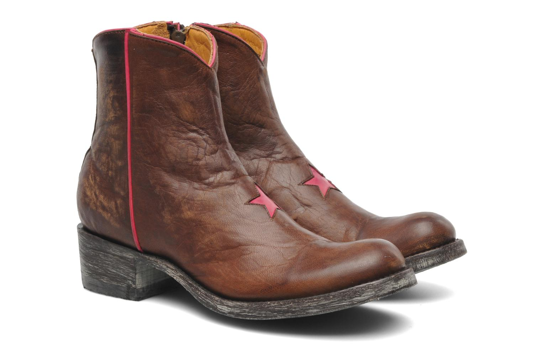 Bottines et boots Mexicana Starbrass Marron vue 3/4