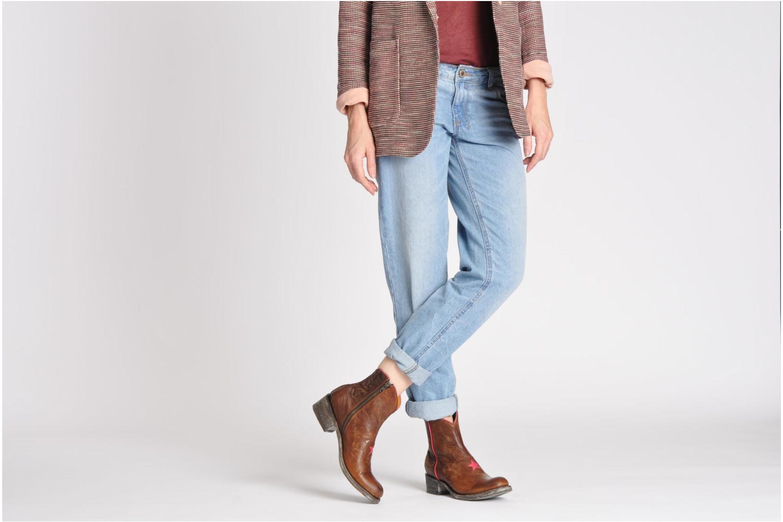 Bottines et boots Mexicana Starbrass Marron vue bas / vue portée sac