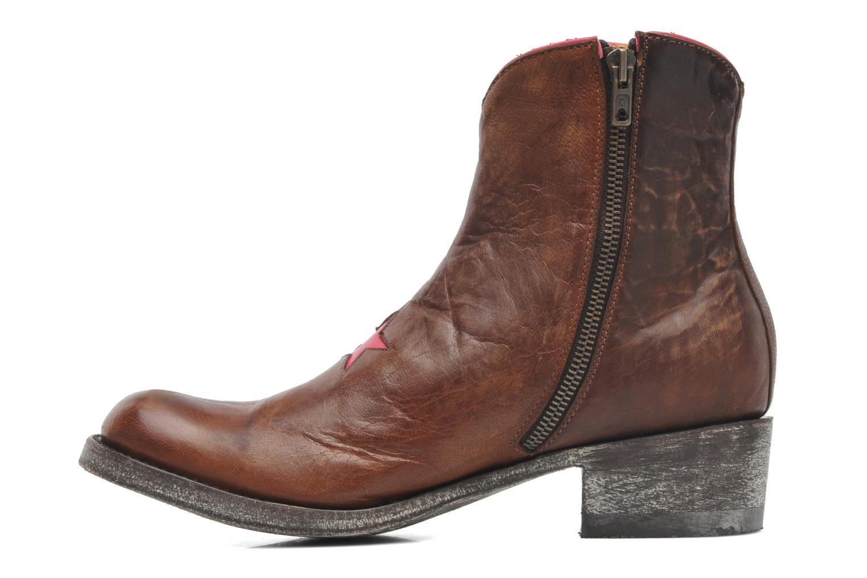 Bottines et boots Mexicana Starbrass Marron vue face