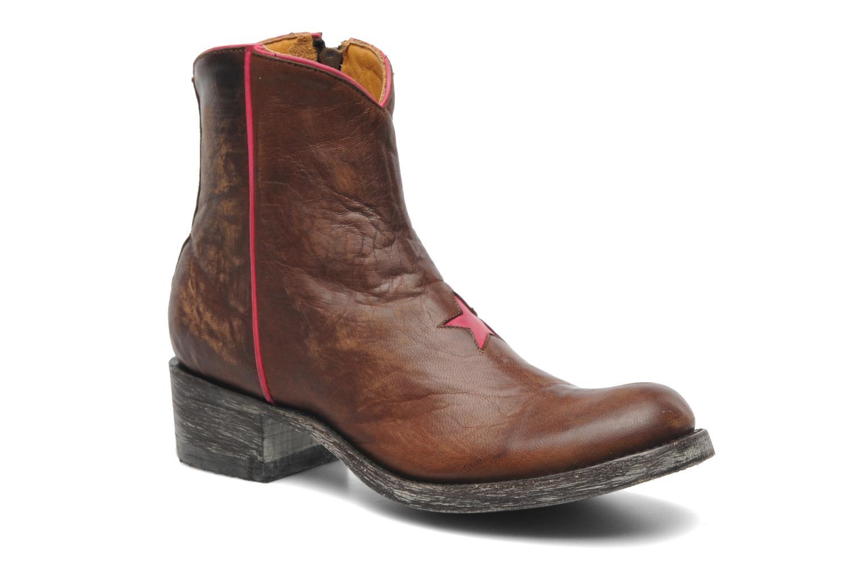 Bottines et boots Mexicana Starbrass Marron vue détail/paire