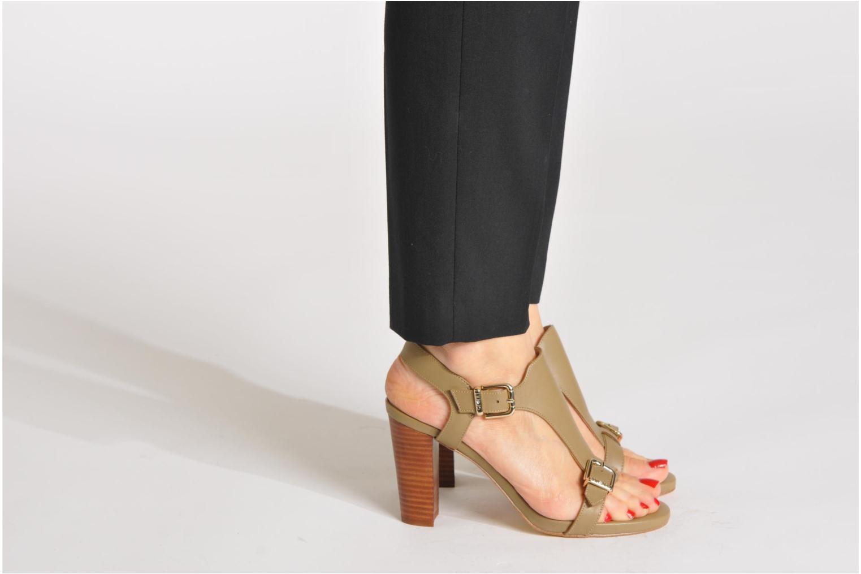 Sandales et nu-pieds Liu Jo Sandale Marianne Beige vue bas / vue portée sac