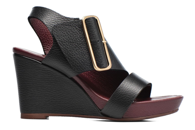 Sandales et nu-pieds Avril Gau Largo Noir vue derrière