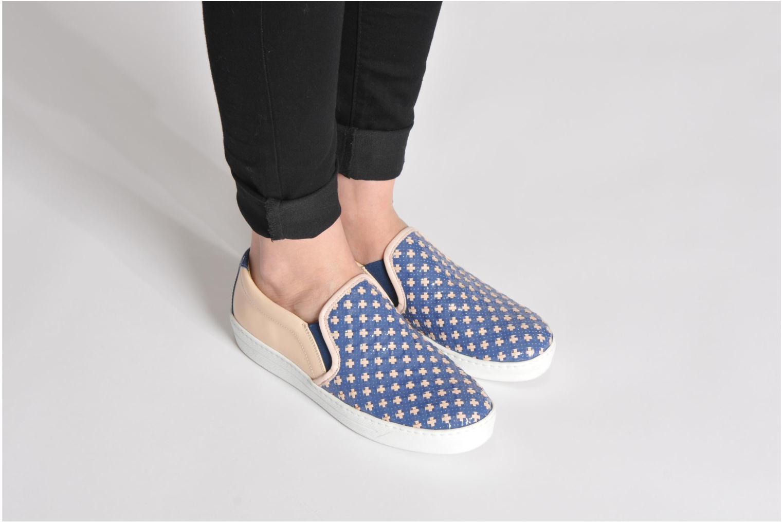 Sneakers Georgia Rose Parju Blauw onder