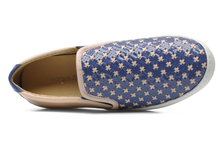 Sneaker Georgia Rose Parju blau ansicht von links