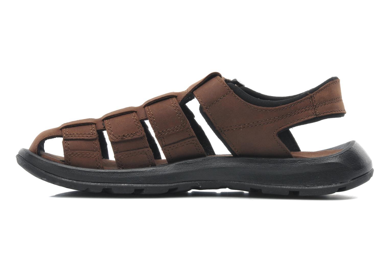 Sandales et nu-pieds Columbia Levanto Marron vue face