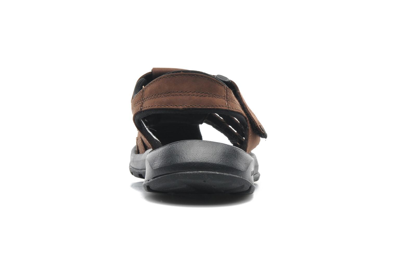 Sandales et nu-pieds Columbia Levanto Marron vue droite