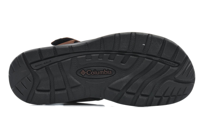 Sandales et nu-pieds Columbia Levanto Marron vue haut