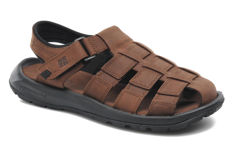 Sandales et nu-pieds Columbia Levanto Marron vue détail/paire
