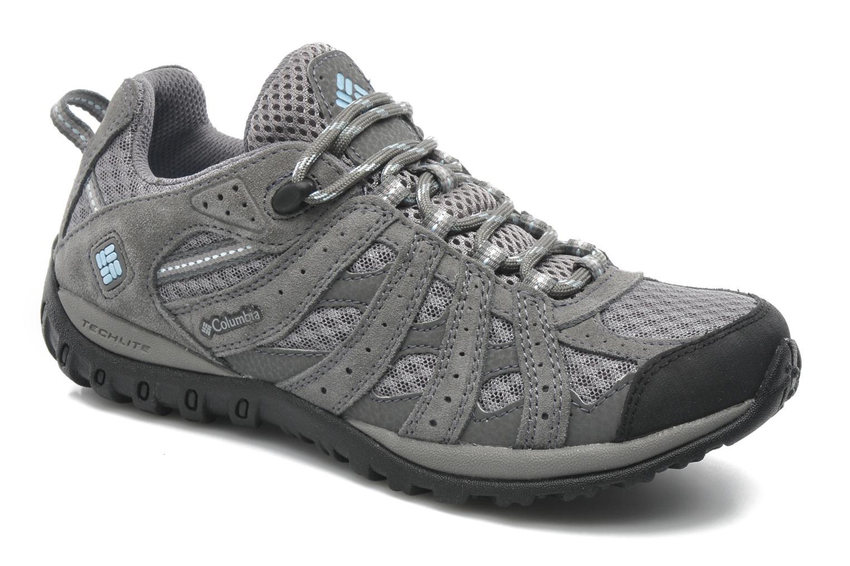 Chaussures de sport Columbia Redmond W Gris vue détail/paire
