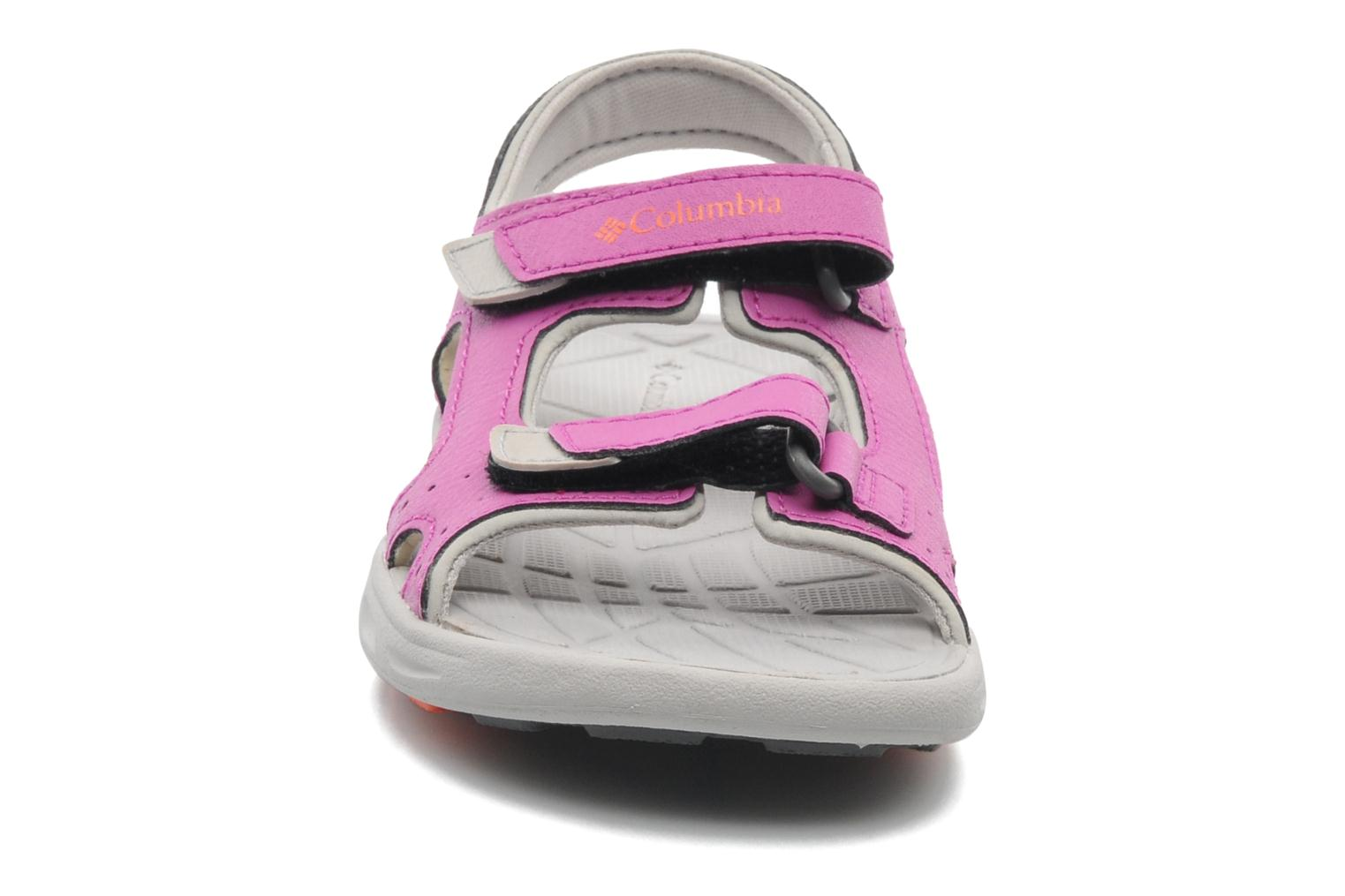 Sandals Columbia Childrens Techs Pink model view