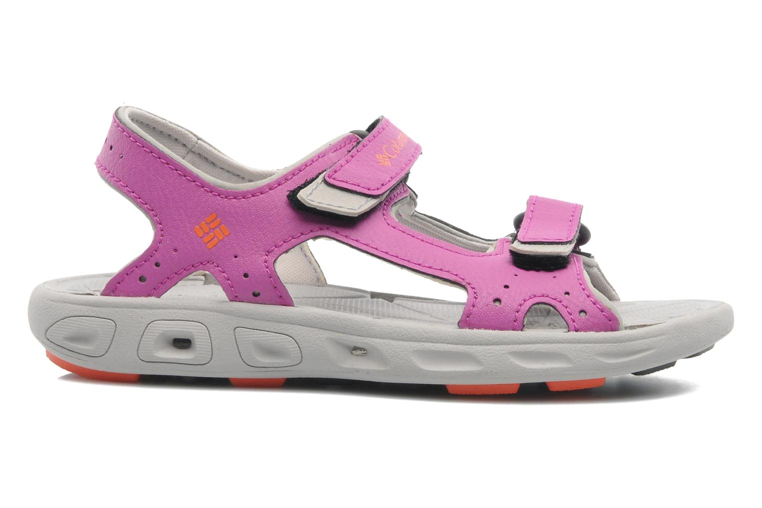 Sandals Columbia Childrens Techs Pink back view