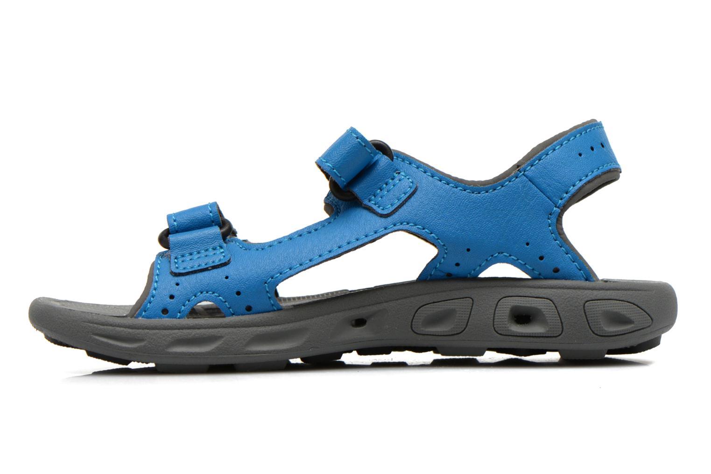 Sandales et nu-pieds Columbia Childrens Techs Bleu vue face