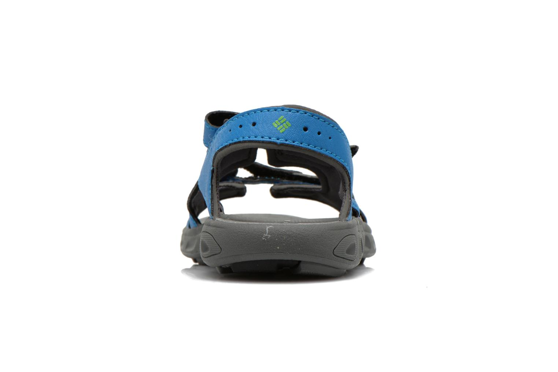 Sandales et nu-pieds Columbia Childrens Techs Bleu vue droite