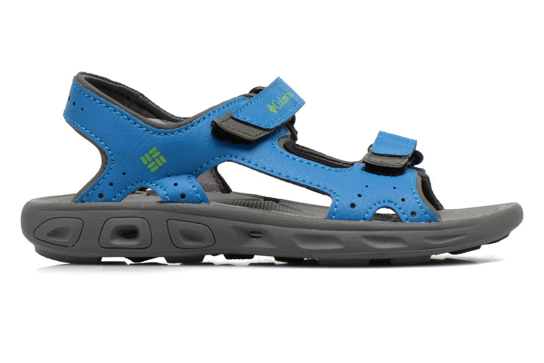 Sandales et nu-pieds Columbia Childrens Techs Bleu vue derrière