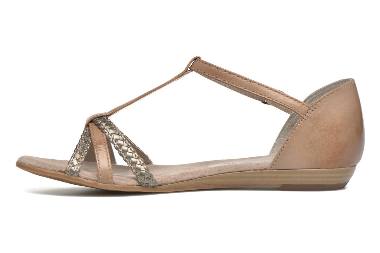 Sandales et nu-pieds Tamaris Brianna Gris vue face