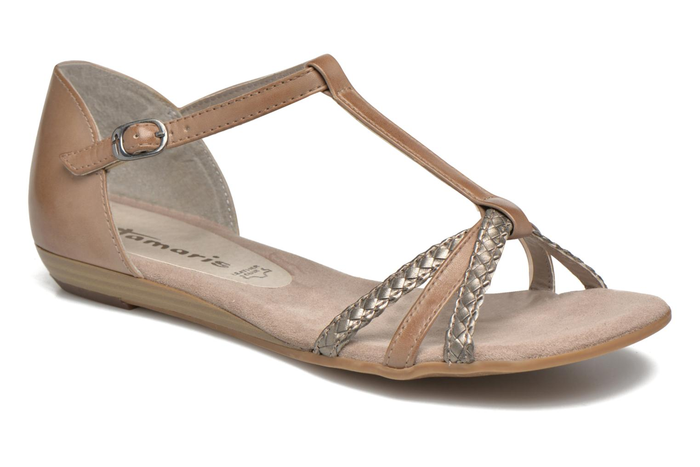 Sandales et nu-pieds Tamaris Brianna Gris vue détail/paire