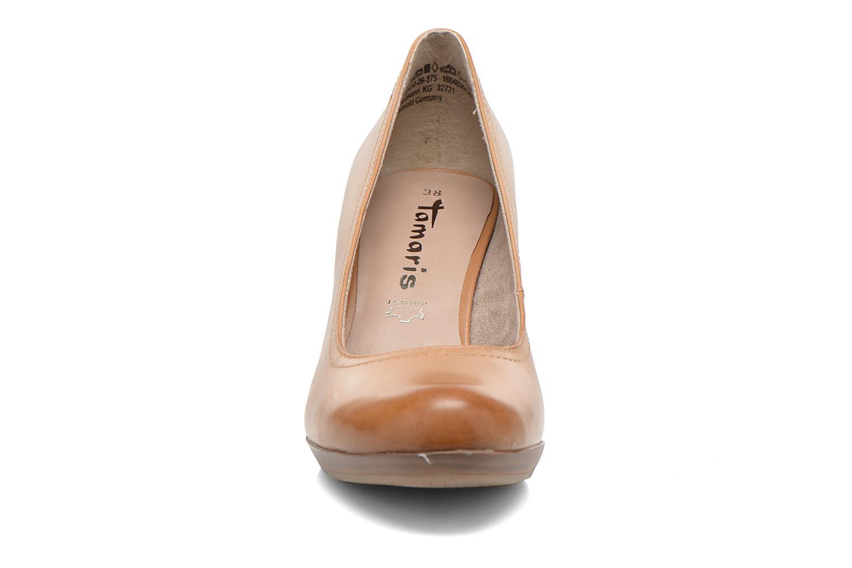 Escarpins Tamaris Kristy Marron vue portées chaussures