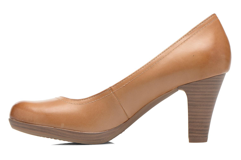 High heels Tamaris Kristy Brown front view