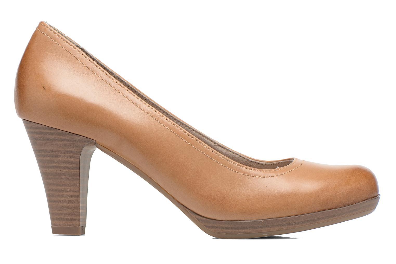 High heels Tamaris Kristy Brown back view