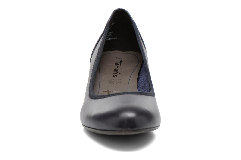 Escarpins Tamaris Samuel Bleu vue portées chaussures