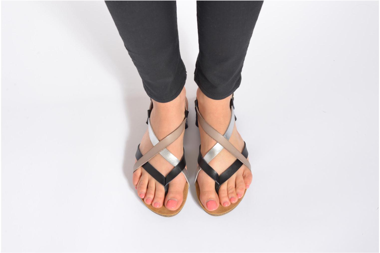 Sandales et nu-pieds Blowfish Granola Multicolore vue bas / vue portée sac
