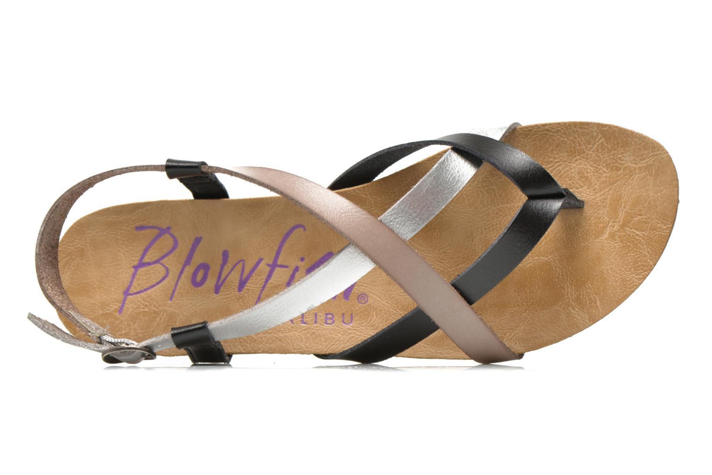 Sandales et nu-pieds Blowfish Granola Multicolore vue gauche