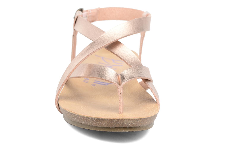 Sandals Blowfish Granola Pink model view